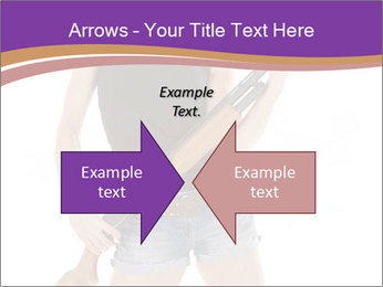 A cowgirl PowerPoint Templates - Slide 90