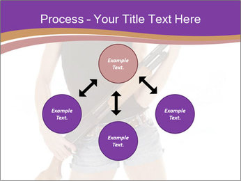 A cowgirl PowerPoint Templates - Slide 91