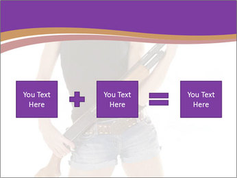 A cowgirl PowerPoint Templates - Slide 95