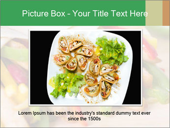 Mexican fajitas PowerPoint Templates - Slide 16