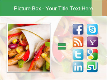 Mexican fajitas PowerPoint Templates - Slide 21