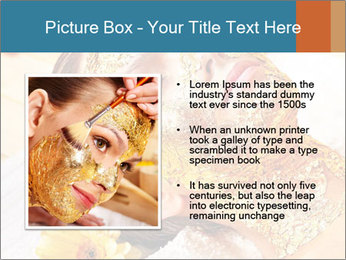 Gold mask PowerPoint Templates - Slide 13