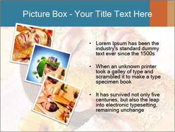 Gold mask PowerPoint Templates - Slide 17