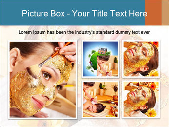 Gold mask PowerPoint Templates - Slide 19