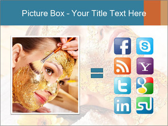 Gold mask PowerPoint Templates - Slide 21