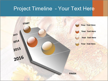 Gold mask PowerPoint Templates - Slide 26