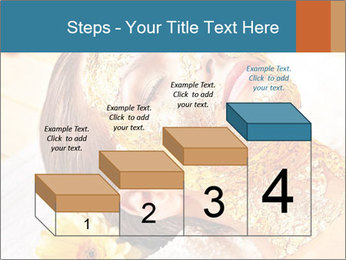 Gold mask PowerPoint Templates - Slide 64
