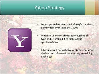 Fallen leaves PowerPoint Template - Slide 11