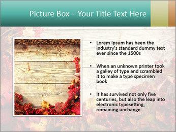 Fallen leaves PowerPoint Template - Slide 13