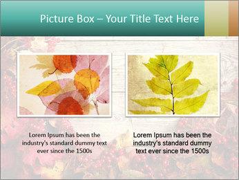 Fallen leaves PowerPoint Template - Slide 18