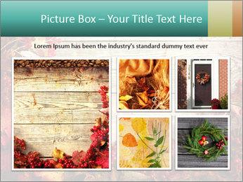 Fallen leaves PowerPoint Template - Slide 19