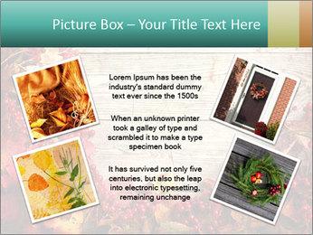 Fallen leaves PowerPoint Template - Slide 24