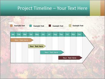 Fallen leaves PowerPoint Template - Slide 25