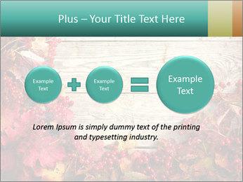 Fallen leaves PowerPoint Template - Slide 75