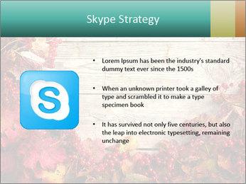 Fallen leaves PowerPoint Template - Slide 8