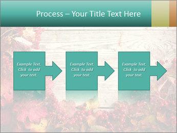 Fallen leaves PowerPoint Template - Slide 88