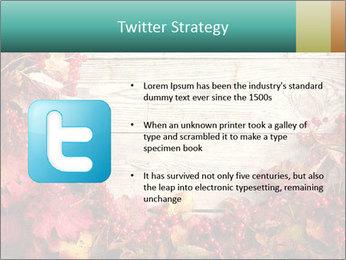 Fallen leaves PowerPoint Template - Slide 9