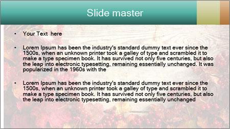 Fallen leaves PowerPoint Template - Slide 2