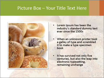 Assortment Of Bagels PowerPoint Templates - Slide 13