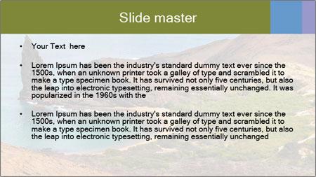 Bartolome island PowerPoint Template - Slide 2