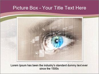 Eye PowerPoint Template - Slide 15