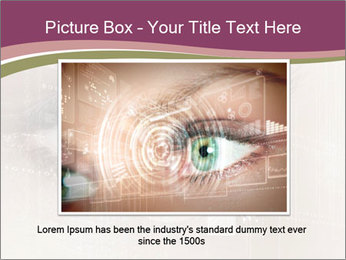 Eye PowerPoint Template - Slide 16