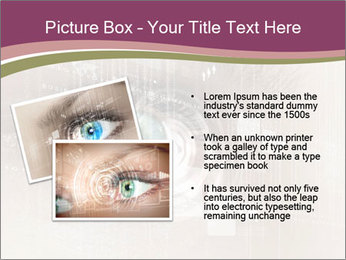 Eye PowerPoint Template - Slide 20