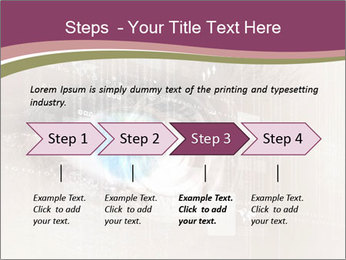 Eye PowerPoint Template - Slide 4