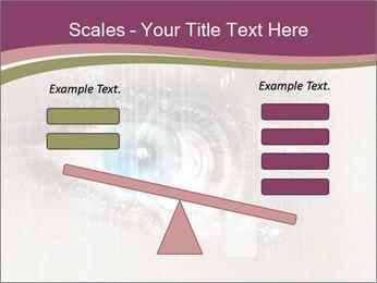 Eye PowerPoint Template - Slide 89