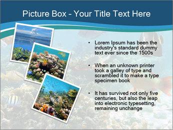 Underwater PowerPoint Template - Slide 17