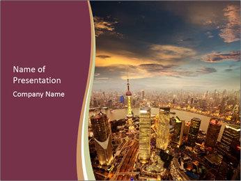 Skyline PowerPoint Templates - Slide 1