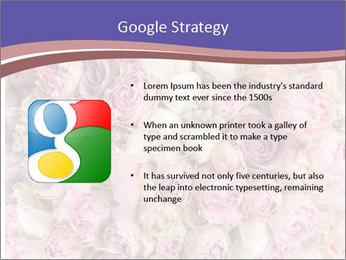 Wedding bouquet with rose bush PowerPoint Templates - Slide 10