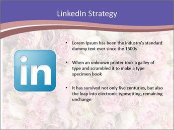 Wedding bouquet with rose bush PowerPoint Templates - Slide 12