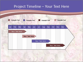 Wedding bouquet with rose bush PowerPoint Templates - Slide 25