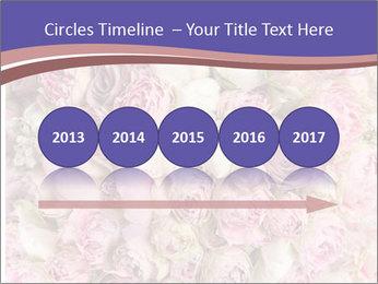 Wedding bouquet with rose bush PowerPoint Templates - Slide 29