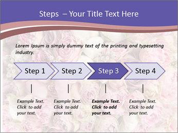 Wedding bouquet with rose bush PowerPoint Templates - Slide 4