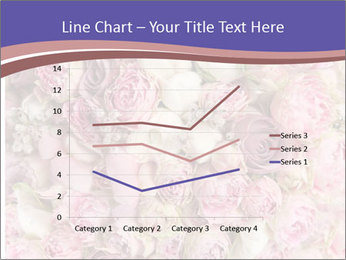 Wedding bouquet with rose bush PowerPoint Template - Slide 54
