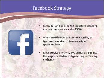 Wedding bouquet with rose bush PowerPoint Templates - Slide 6