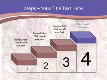 Wedding bouquet with rose bush PowerPoint Templates - Slide 64