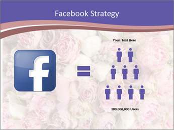 Wedding bouquet with rose bush PowerPoint Template - Slide 7