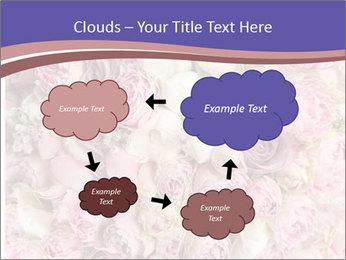 Wedding bouquet with rose bush PowerPoint Templates - Slide 72