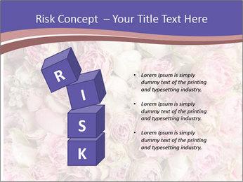 Wedding bouquet with rose bush PowerPoint Templates - Slide 81