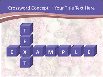 Wedding bouquet with rose bush PowerPoint Templates - Slide 82