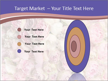 Wedding bouquet with rose bush PowerPoint Template - Slide 84