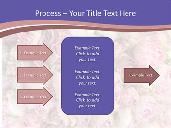 Wedding bouquet with rose bush PowerPoint Template - Slide 85