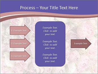 Wedding bouquet with rose bush PowerPoint Templates - Slide 85