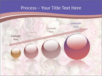 Wedding bouquet with rose bush PowerPoint Template - Slide 87