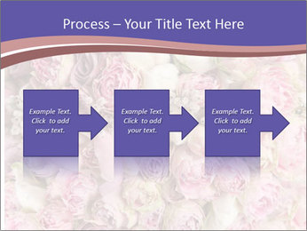 Wedding bouquet with rose bush PowerPoint Template - Slide 88