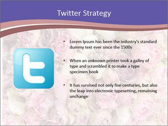 Wedding bouquet with rose bush PowerPoint Templates - Slide 9