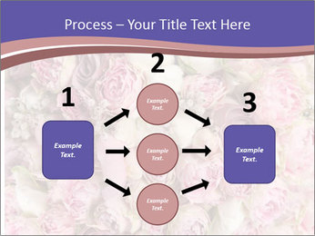 Wedding bouquet with rose bush PowerPoint Template - Slide 92